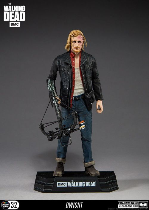 "McFarlane Toys The Walking Dead TV Series Dwight Figure 7"" Colour Tops"